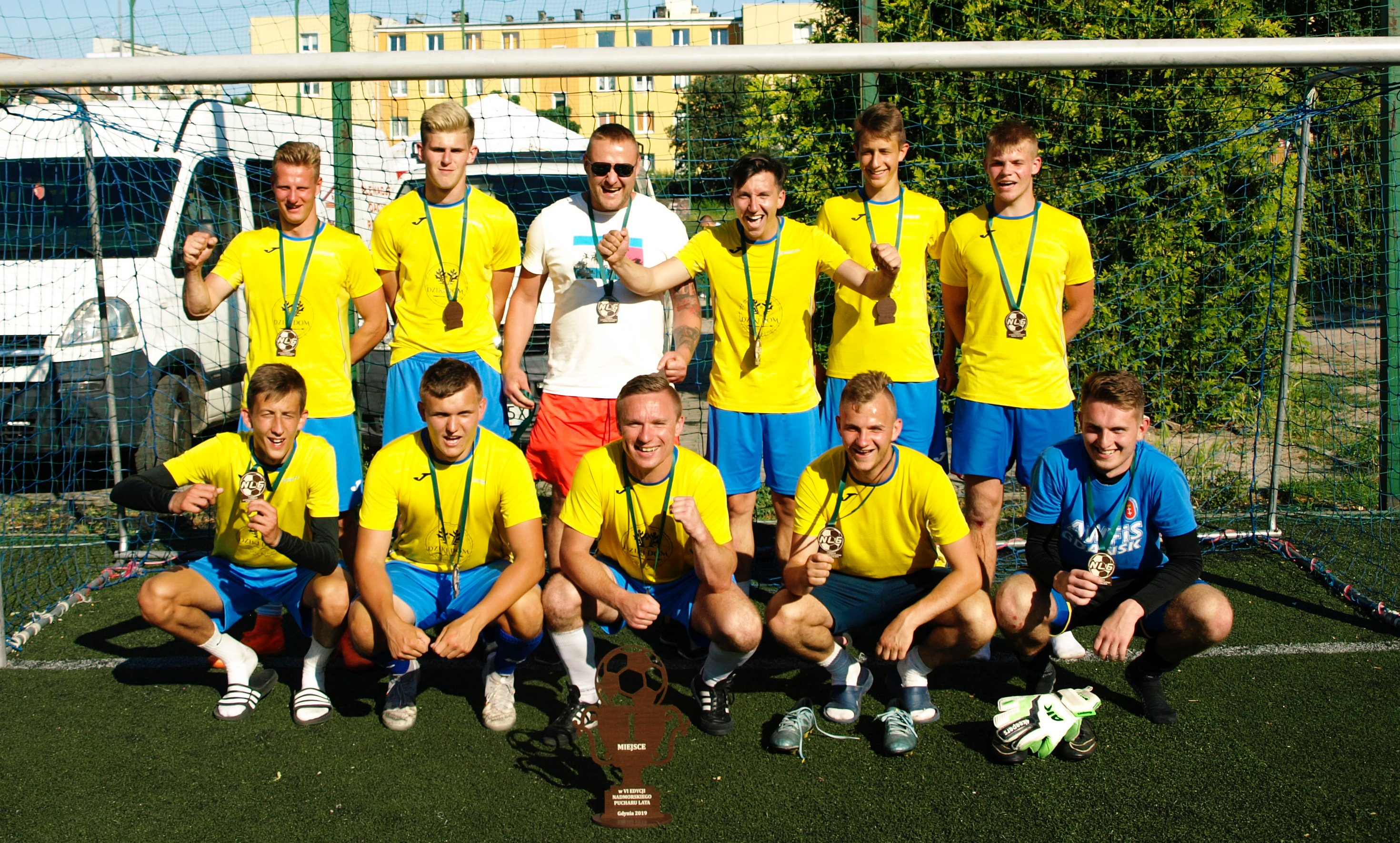 DZIKI DOM wygrywa Nadmorski Puchar Lata 2019